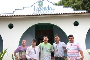 Sindicato cidadão! Presidente visita e apoia Projeto Fazenda da Esperança