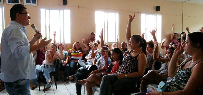Pereiro: Assembleia e Mobilização para Greve Nacional