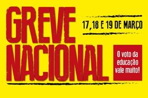 APEOC/CNTE convoca para Greve Nacional (17 a 19 Março)