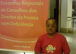 APEOC apoia ida de Conselheiro ao Encontro de Direitos da Pessoa com Deficiência