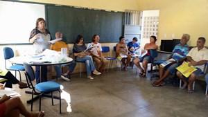 Encontros com Profissionais da Educação Aposentados em Assaré, Crato e Juazeiro dias 25 e 26/04