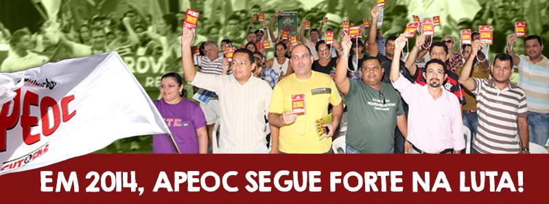 APEOC organiza a categoria pela base e segue forte na luta!