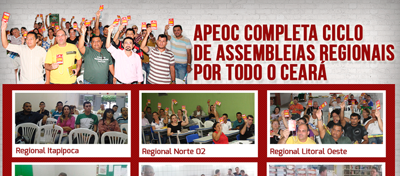 APEOC completa Ciclo de Assembleias Regionais por todo o Ceará