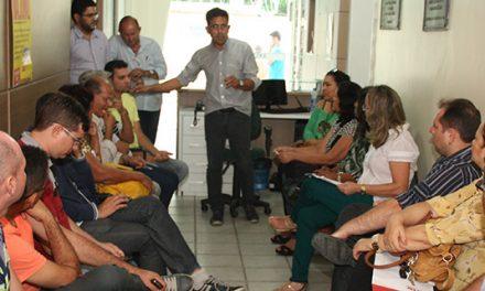 Presidente da APEOC Intensifica visita a escolas, capital e interior