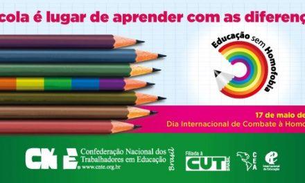 17 de Maio – Dia Internacional de Combate à Homofobia