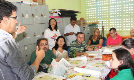 Visitas APEOC, Capital e Interior: Financiamento Educação, Plano de Carreira, Progressão
