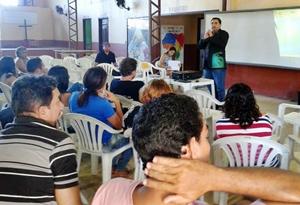 Profissionais da Educação de Ocara reúnem-se em participativa Plenária