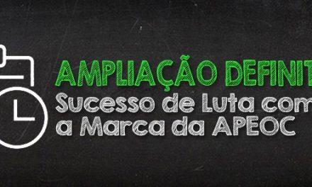 Ampliação Definitiva de Carga Horária: Sucesso de Luta com a Marca APEOC!