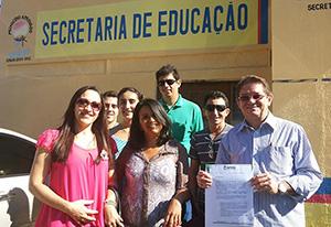 Eusébio: Concursados em Audiência com Secretária de Educação