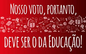 Vote pela Educação!