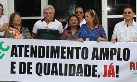 """""""ISSEC EM XEQUE"""": Ato pela normalização dos serviços de saúde gera resultado!"""