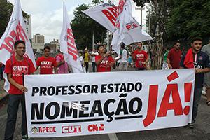 Nomeação de Professores é fruto da organização, luta e negociação do Sindicato APEOC