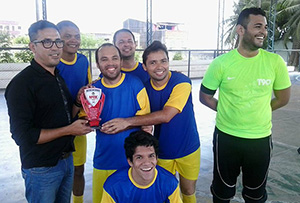 """""""Mestres no Esporte"""": Ocorre o 2º Torneio APEOC Intercolegial de Futsal dos Professores da Rede Estadual"""