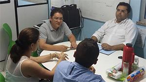 Tramitação de Processos (nomeação, estabilidade e promoções), e Serviço APEOC de Acompanhamento Processual