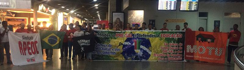 Madrugada da Educação (22/09): APEOC luta para evitar que recursos do Petróleo/Pré-Sal sejam entregues!