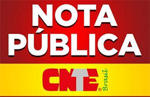 Nota pública: CNTE comenta projeto que trata do aumento do piso