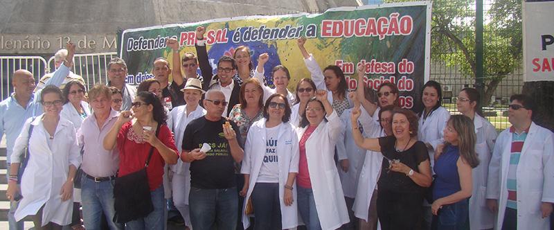 Em Brasília e Fortaleza, APEOC na defesa da Educação Pública Brasileira