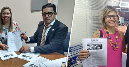 Descompressão: APEOC acompanha na Assembleia Legislativa leitura da mensagem