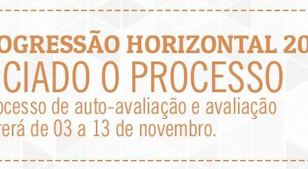 Cronograma Progressão Horizontal – 2015