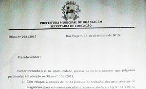 Negociação entre Sindicato APEOC e Prefeitura de Boa Viagem avança