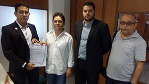 PROTOCOLADO: Sindicato APEOC oficializa pedido de audiência com governador para exigir pagamento da Revisão Geral dos Servidores