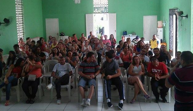 APEOC Chorozinho mobiliza professores e Piso Salarial é aprovado na Câmara
