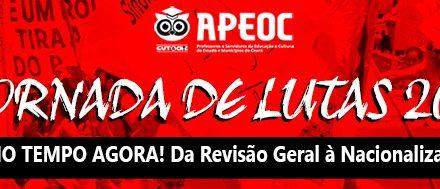 2016 começa com Jornada de Lutas do Sindicato APEOC