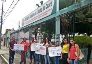 Sindicato APEOC entra com representação no Ministério Público para garantir convocação de professores concursados