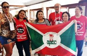 Sindicato APEOC participa de Encontro Nacional de Funcionários da Educação da CNTE