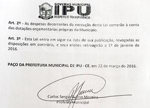Sindicato APEOC negocia e consegue aumento de 11,36% para professores de Ipu