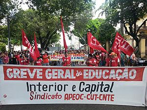 Greve Geral: professores e estudantes ganham as ruas em defesa da Educação
