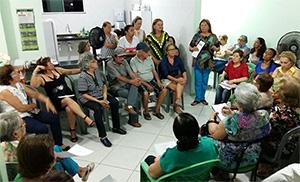Sindicato APEOC promove série de reuniões com aposentados da Ibiapaba