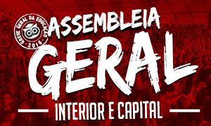 Assembleia Geral nesta quarta (25) no Ginásio da Parangaba
