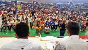 Em Assembleia Geral, professores estaduais votam pela continuidade da greve