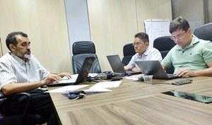 Comissão Técnica de Negociação entre o Sindicato APEOC e Seduc