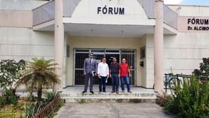 Camocim: Sindicato APEOC faz atendimento a sócios e tem audiência na Justiça