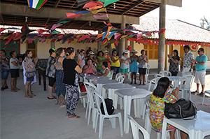 Sindicato APEOC inaugura Espaço Cultural na Colônia de Férias dos Professores