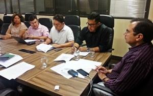 Direção do Sindicato APEOC tem audiência com Secretário da Educação