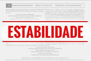 Após pressão, são publicados atos de estabilidade de professores estaduais