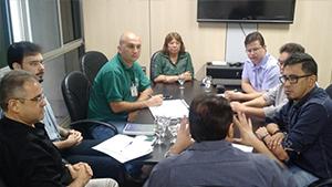 Direção do Sindicato APEOC tem audiência com Secretário de Educação
