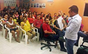 Sindicato APEOC realiza plenária com professores de Graça para discutir precatório do FUNDEF