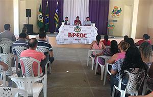 Sindicato APEOC realiza entrevista com candidatos à Prefeitura de Paracuru