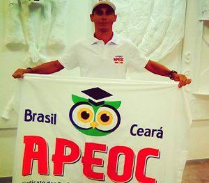 Parceria APEOC: Fernando Pangaré se prepara para correr ultramaratona em Israel