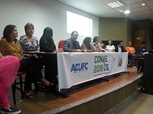 Sindicato APEOC participa do lançamento estadual da CONAE 2018