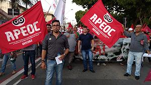 Sindicato APEOC nas ruas contra a PEC 241