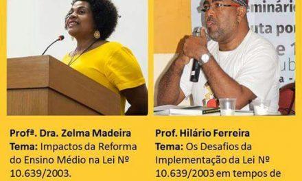 Sindicato APEOC participa de Seminário sobre Educação das Relações Etnicorraciais