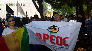 Sindicato APEOC presente na Marcha contra a PEC 55 e MP 746 em Brasília