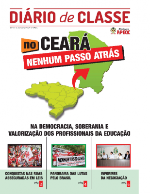 2015 Diario de Classe – APEOC Nenhum Passo Atrás
