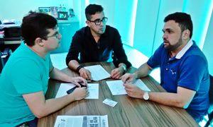 Sindicato APEOC recebe professor de Varjota