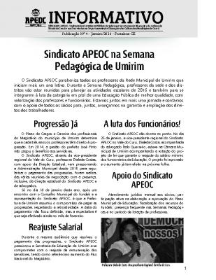 Informativon nº4 Janeiro 2016